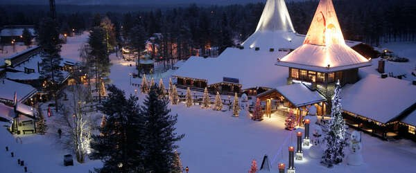 Rovaniemi and Visit Finland:ロヴァニエミのサンタクロース村