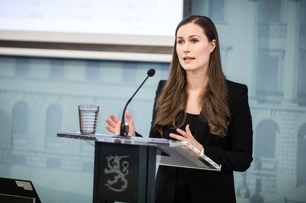 フィンランドのサンナ・マリン首相 Laura Kotila / valtioneuvoston kanslia