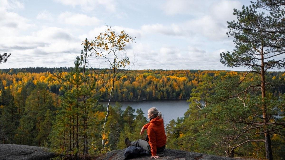 Toni Panula / Visit Finland 色があるうちはまだいい。やがて葉が落ち、長いモノクロの冬がやってくる