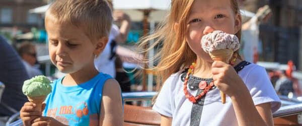 Photo / Ann-Britt Pada 短い夏のあいだにしみじみと味わうアイスクリーム