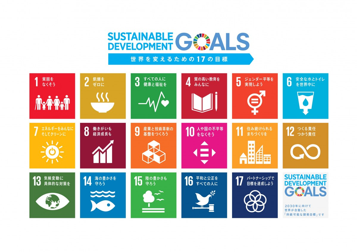 "<i><a href=""https://miraimedia.asahi.com/sdgs-description/"">SDGs(持続可能な開発目標)とは何か?17の目標をわかりやすく解説 日本の取り組み事例あり   朝日新聞</a></i>"