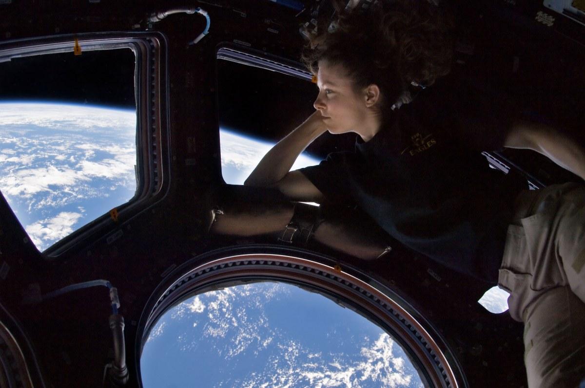 By NASA/Tracy Caldwell Dyson, Public Domain