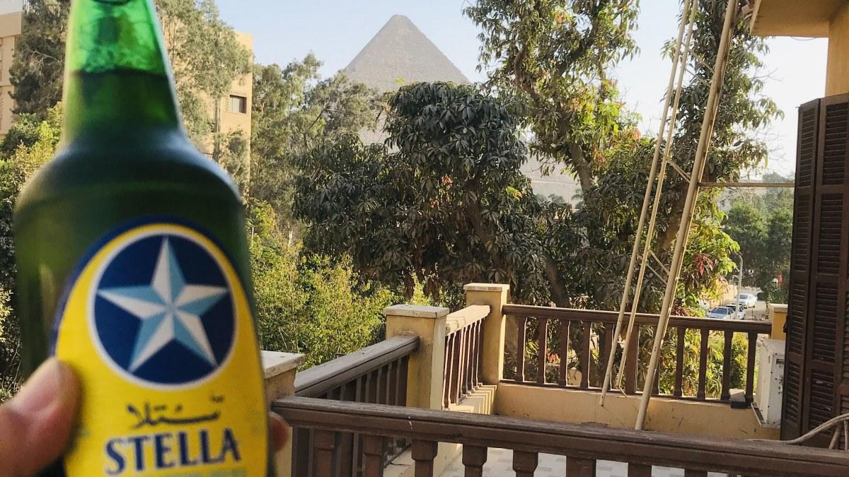 エジプトのステラビール(筆者撮影)