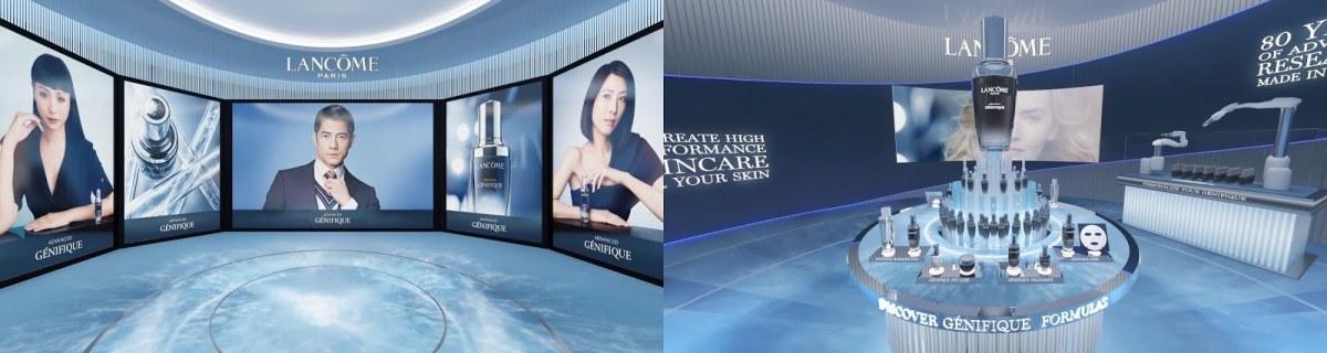 "Lancome Singaporeの<a href=""https://www.lancome.com.sg/whats-new/virtual-flagship-countdown/#virtual-flagship"">サイトから</a>"
