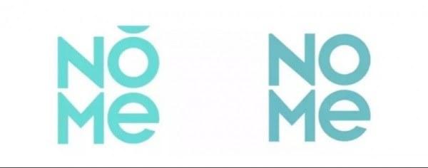 "广州诺米品牌管理有限公司(左)とMINISOのNOME Image:<a href=""https://xw.qq.com/cmsid/20200924A0I2YQ00?f=newdc"">経済視察報</a>"